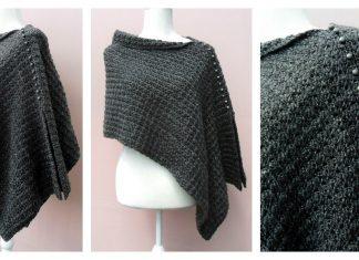 Voguish Poncho Free Crochet Pattern