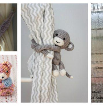 Amigurumi Animal Curtain Tie Crochet Pattern