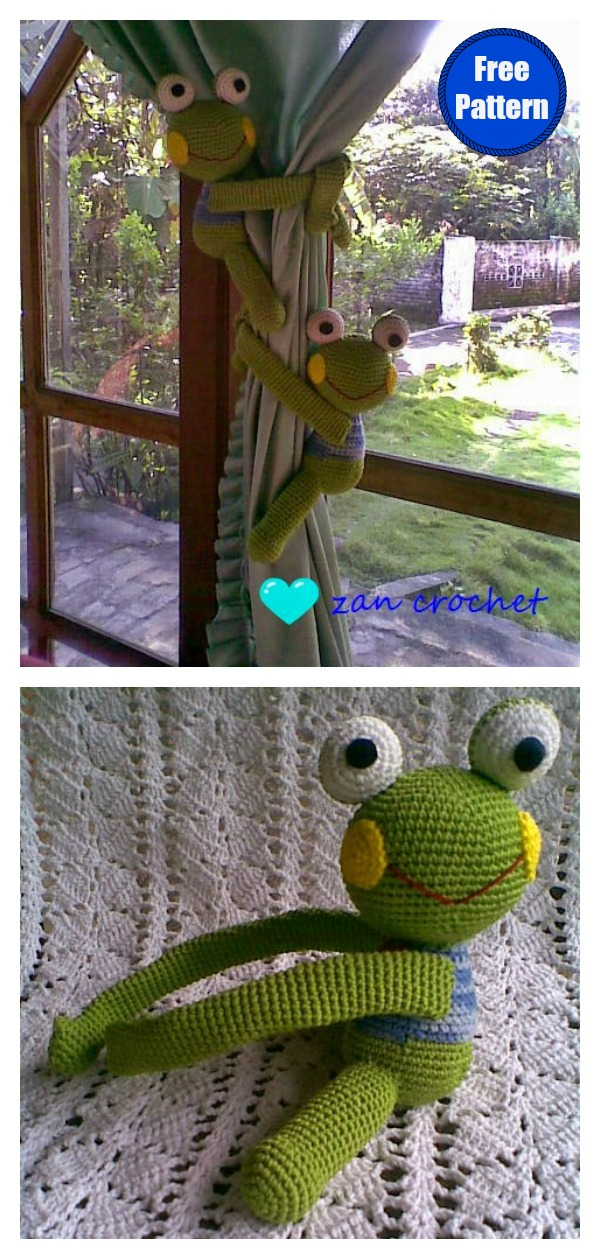Little Frogs and Toads Crochet Amigurumi Pattern | FaveCrafts.com | 1259x600