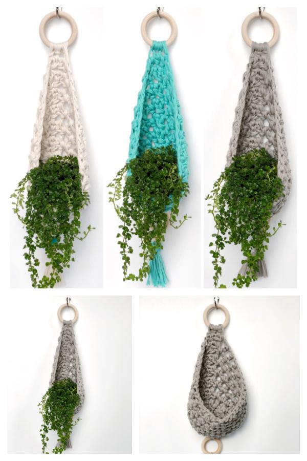 Cozy Crochet Plant Hanger Pattern
