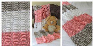 Easy Crochet Lace Baby Blanket Free Pattern