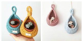 Plant Hanger Crochet Pattern