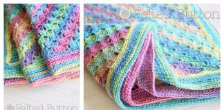 Spring into Summer Blanket Free Crochet Pattern