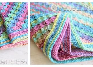 Spring into Summer Blanket Free Crochet Pattern