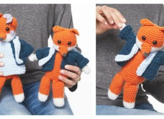 Amigurumi Fox Couple Free Crochet Pattern