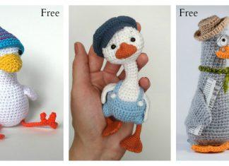 Amigurumi Goose Crochet Pattern Free & Paid