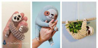 Amigurumi Sloth Crochet Pattern Free and Paid