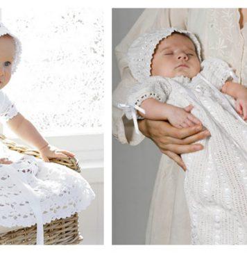 Christening Gown Free Crochet Pattern