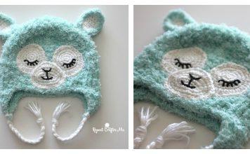 Cozy Llama Hat Free Crochet Pattern