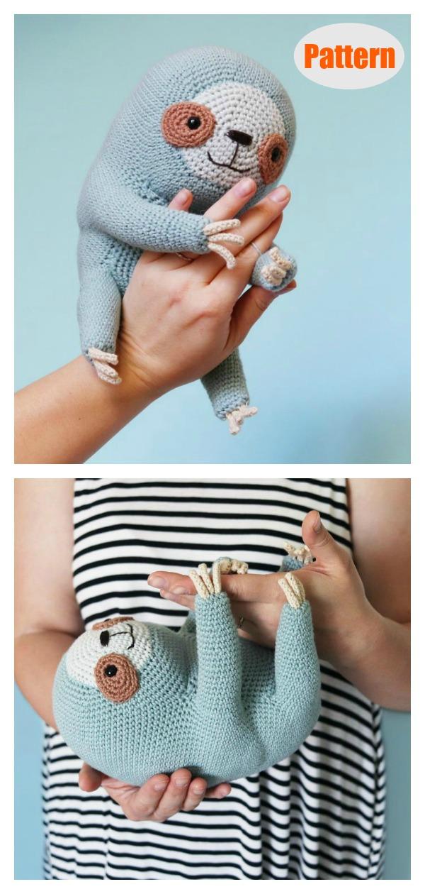 Cuddly Amigurumi Sloth Crochet Pattern