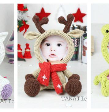 Cute Animal Photo Frame Free Crochet Pattern & Paid