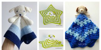 Puppy Dog Lovey Free Crochet Pattern