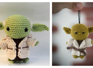 Star Wars Amigurumi Yoda Crochet Pattern