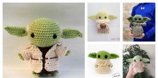 Star Wars Amigurumi Yoda Crochet Pattern