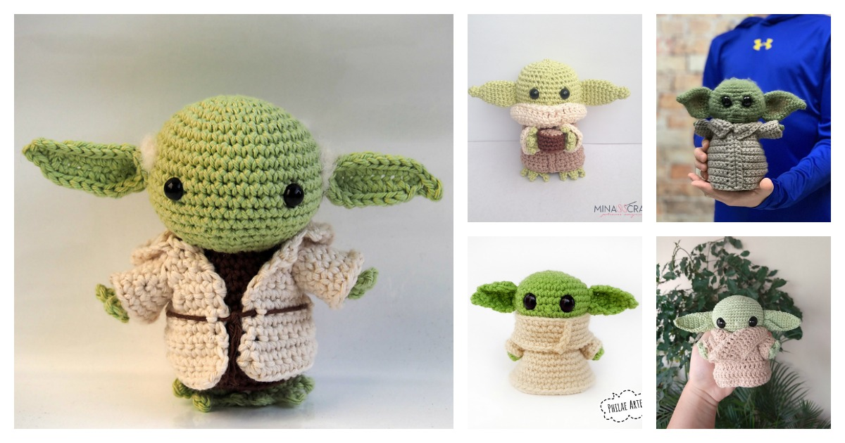 free crochet patterns for star wars characters - Google Search ... | 630x1200