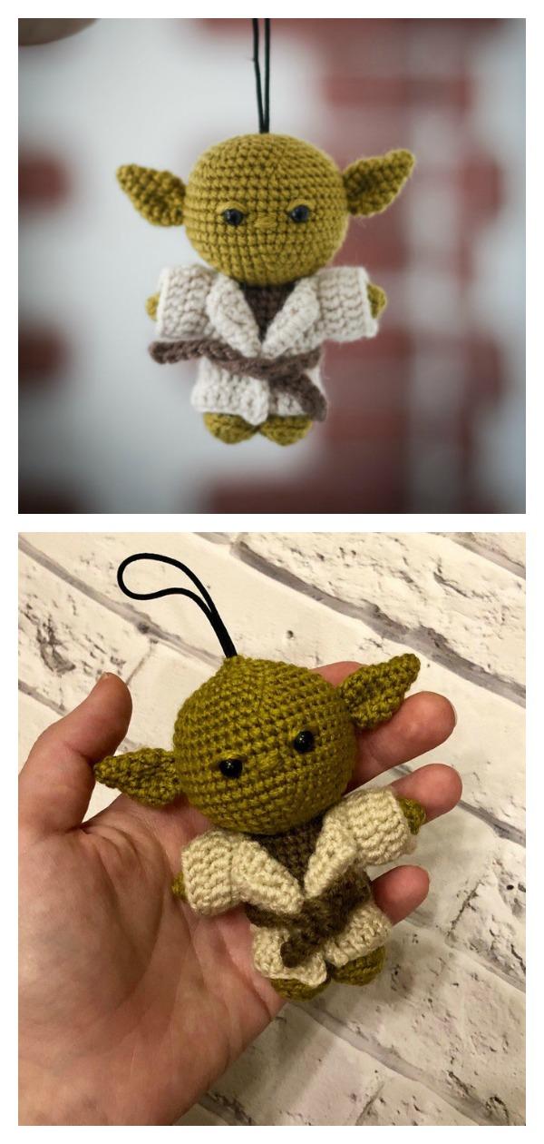 Crochet Star Wars Amigurumi Yoda