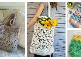 Fancy Market Bag Free Crochet Pattern