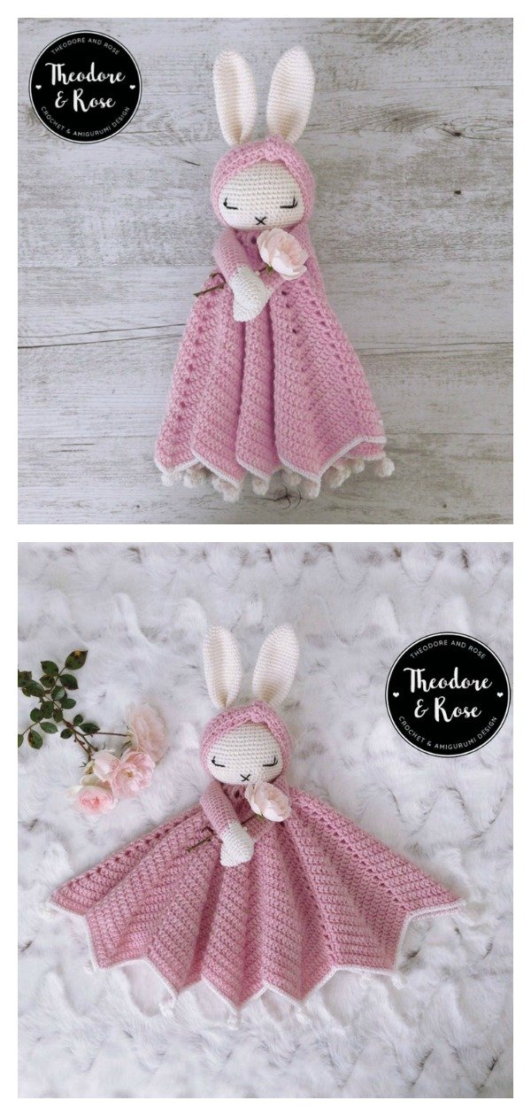11 Crochet Lovey Patterns – Cute Baby Gifts - A More Crafty Life | 1260x600