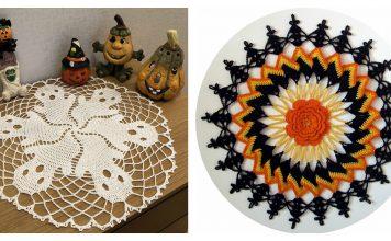 5 Halloween Doily Free Crochet Pattern