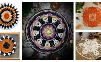 6 Halloween Doily Free Crochet Pattern