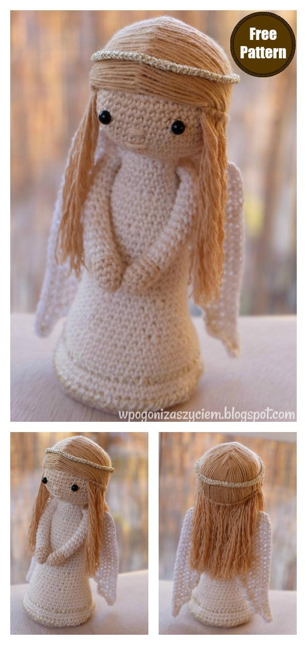 Amigurumi Christmas Angel Doll Crochet Pattern