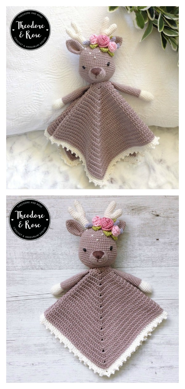 Amigurumi Dear Lovey Blanket Crochet Pattern