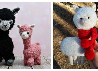 Amigurumi Llama Alpaca Free Crochet Pattern