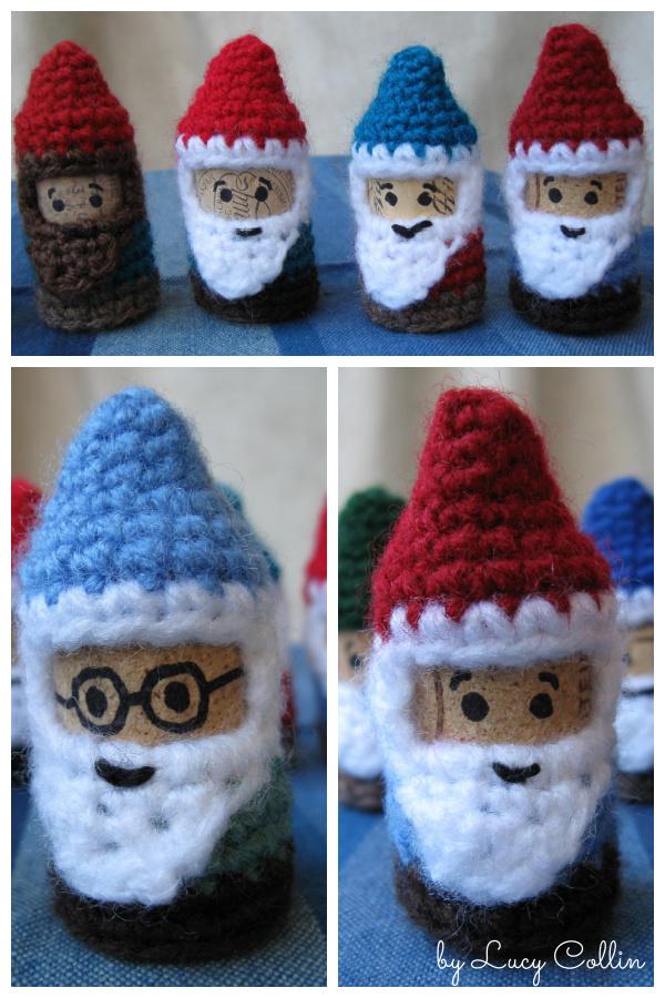 Cork Gnomes Free Crochet Pattern