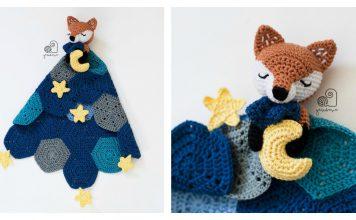 Cute Baby Lovey Blanket Crochet Pattern