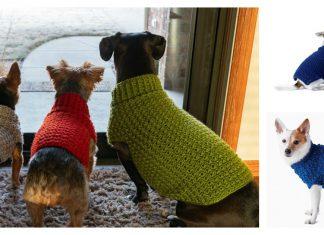 Dog Coat Free Crochet Pattern