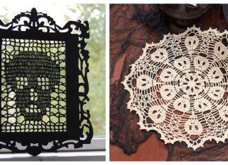 Halloween Doily Free Crochet Pattern