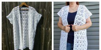 Moonstone Kimono Free Crochet Pattern
