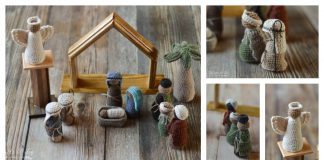 Nativity Set Free Crochet Pattern