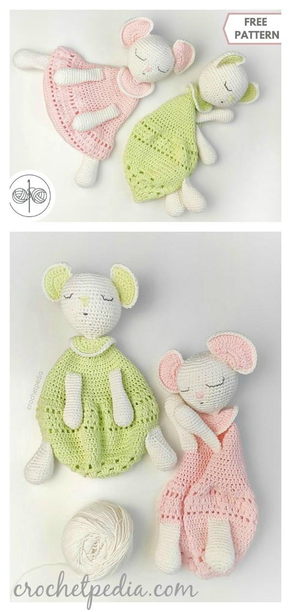 Sleepy Baggy Lovey Free Crochet Pattern
