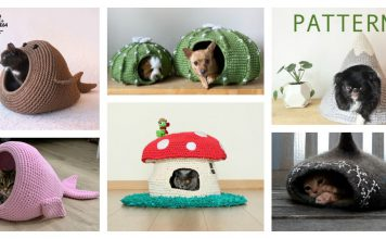 Adorable Cat Cave Crochet Patterns