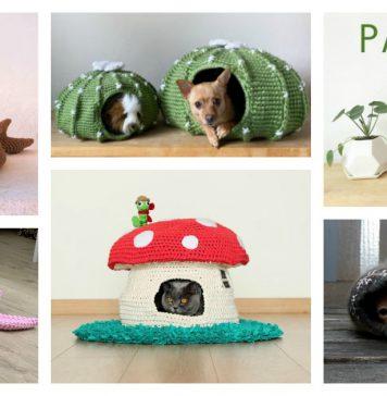 Adorable Cat Cave Crochet Patterns