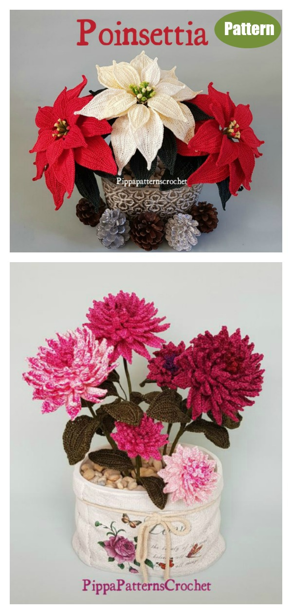 Amazing Flower Bouquet Crochet Pattern