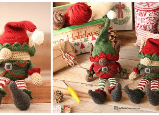 Amigurumi Christmas Elf Free Crochet Patterns