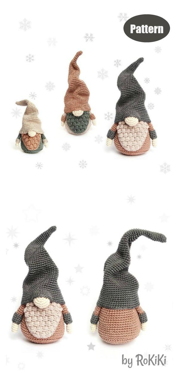 Amigurumi Christmas Gnomes Crochet Pattern