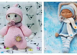 Amigurumi Sleeping Doll Free Crochet Pattern