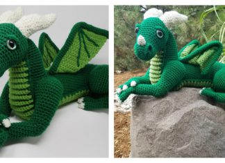 Amigurumi Vincent the Dragon Free Crochet Pattern
