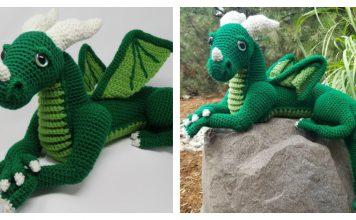 Amigurumi Vincent the Dragon Free Crochet Pattern