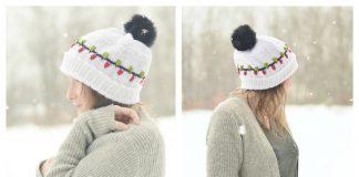 Christmas Vacation Beanie Hat Free Crochet Pattern