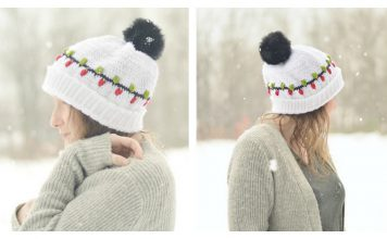 Christmas Vacation Beanie Hat Free Crochet Pattern