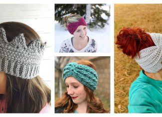 Ear Warmer Free Crochet Pattern and Paid