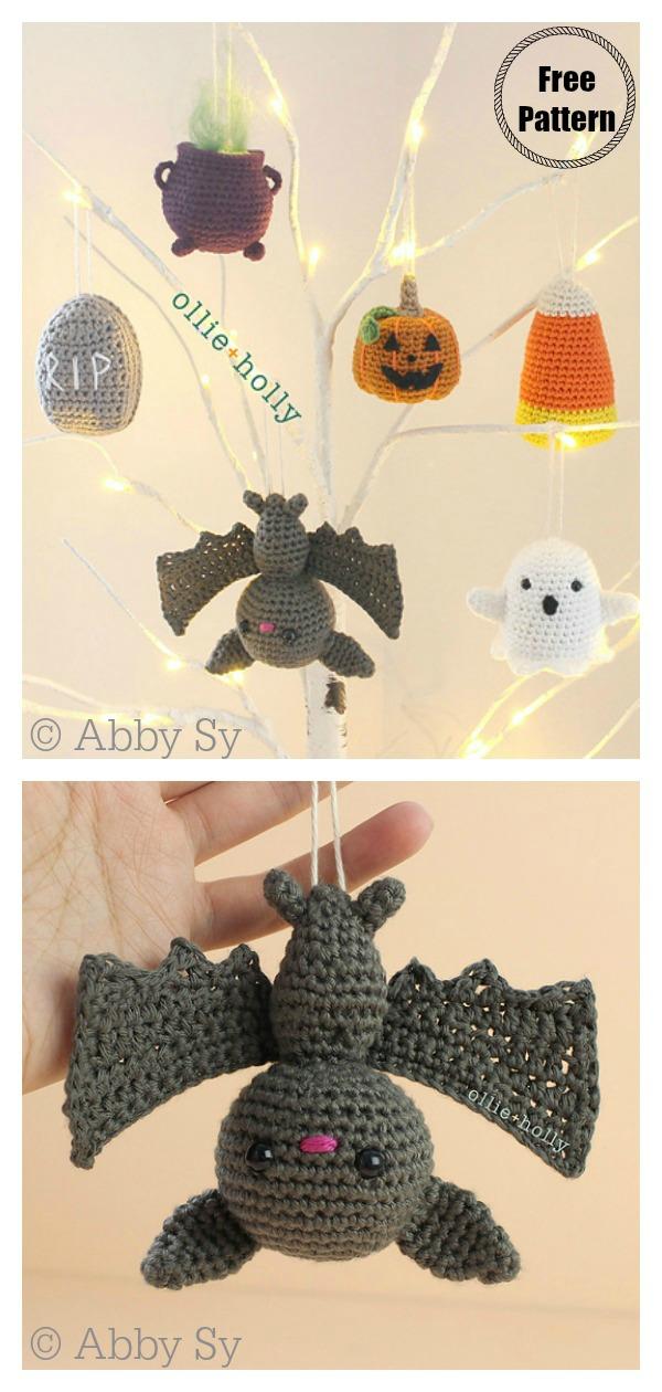 Halloween Ornaments Free Crochet Pattern