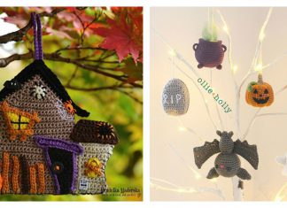Halloween Ornaments Free Crochet Pattern and Paid