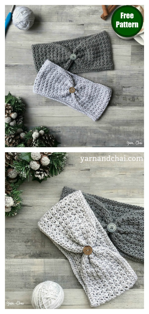 Hope Ear Warmer Free Crochet Pattern