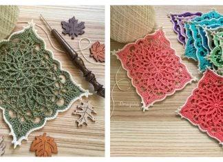 Wispweave Rectangle Doily Free Crochet Pattern