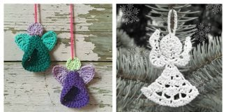 Cute Little Angel Free Crochet Pattern